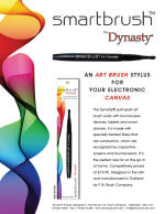 Smartbrush by Dynasty - For Your Electronic Canvas